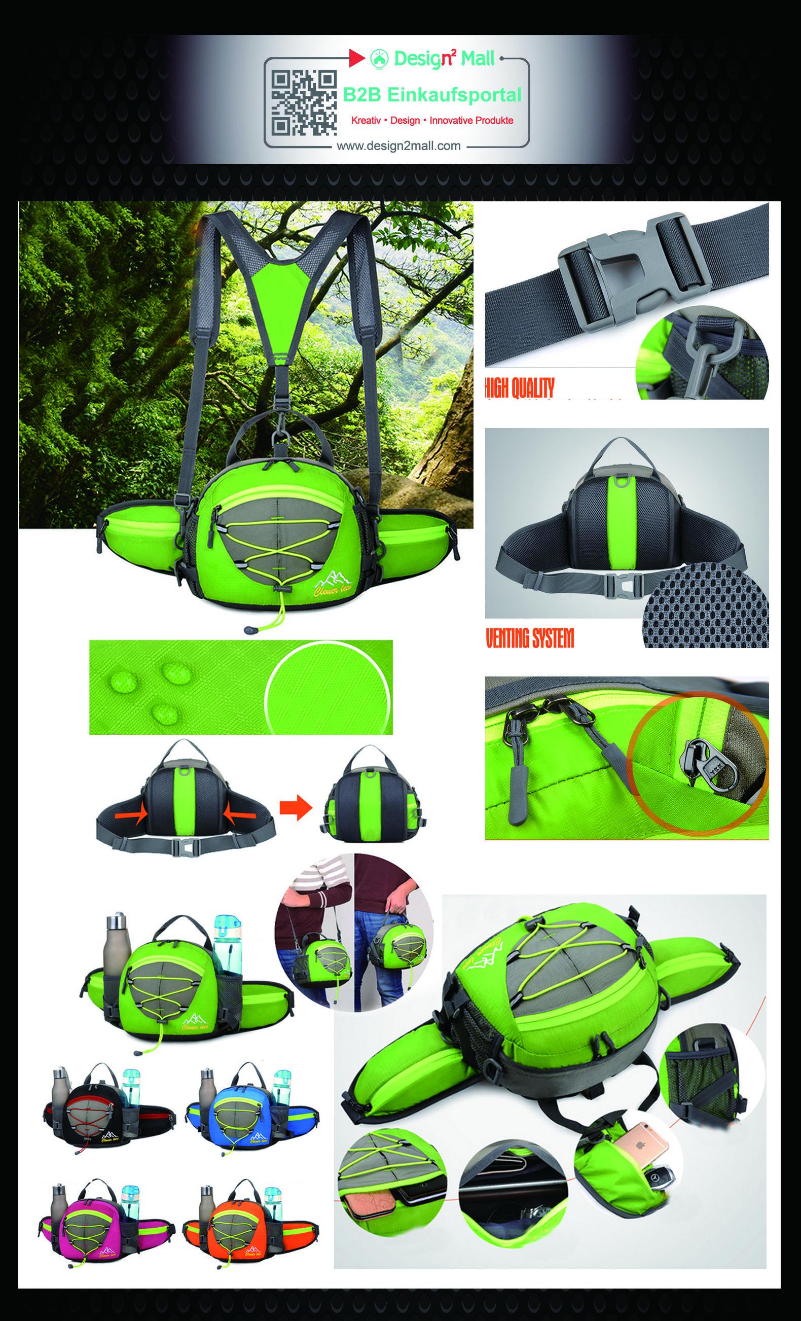 Outdoor Sports Multifunction Waterproof Waist Pack Messenger ...