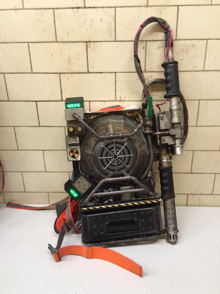 New proton pack