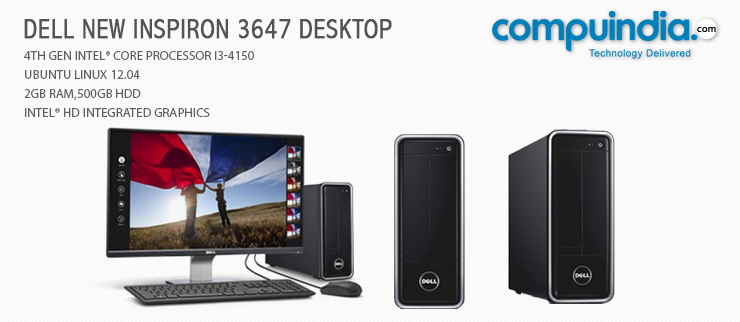 A slim space saving design and powerful i3 processor on the #Dell