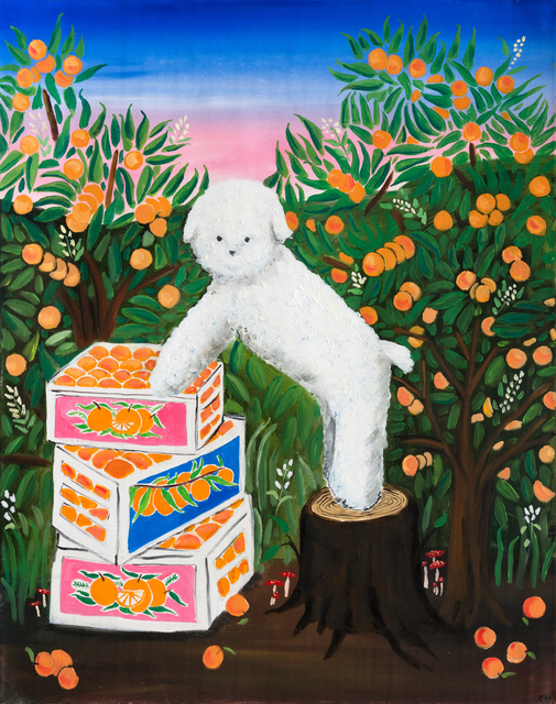 Claire Milbrath | Orange Dream (2020) | Available for Sale | Artsy
