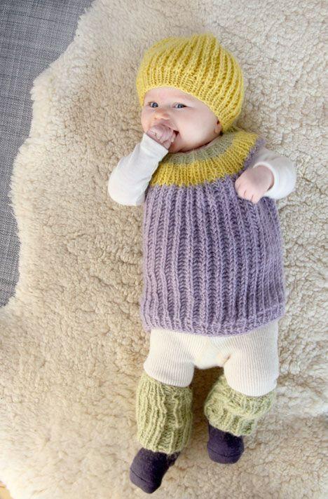 kit tricot nouveau ne