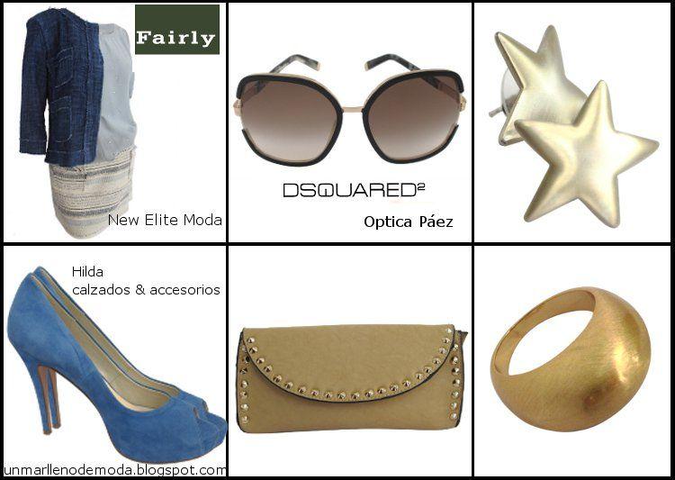 Fairly, New Elite Moda, Dsquared, Optica Paez, Hilda calzados & accesorios