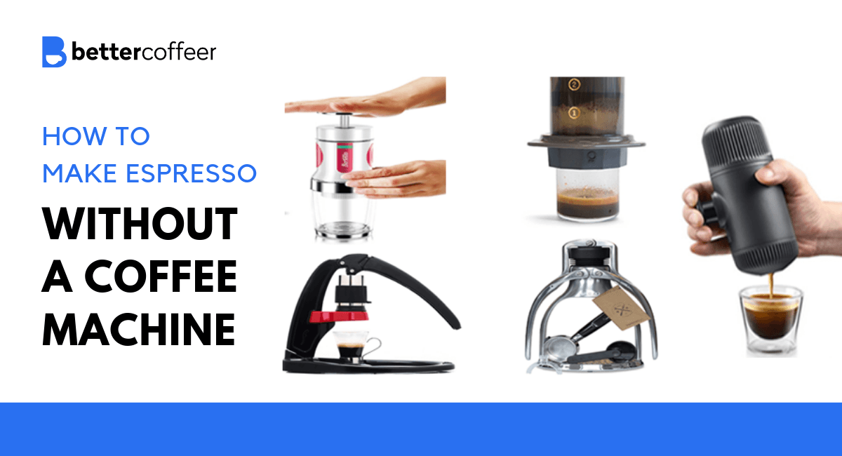 How To Make Espresso Without A Coffee Machine Commercial Espresso Machine Coffee Uses Home Espresso Machine