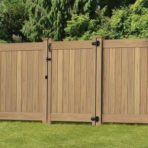 Veranda Dover 6 Ft H X 8 Ft W Vinyl Privacy Fence Panel Kit