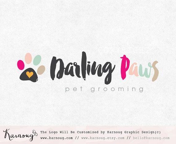 Pet Shop Logo Paw Logo Pet Logo Dog Logo Cat Logo Premade Logo Watermark Logo Business Logo Branding Logo Custom Logo Logos And Watermarks Paw Logo Dog Logo Design Dog Logo