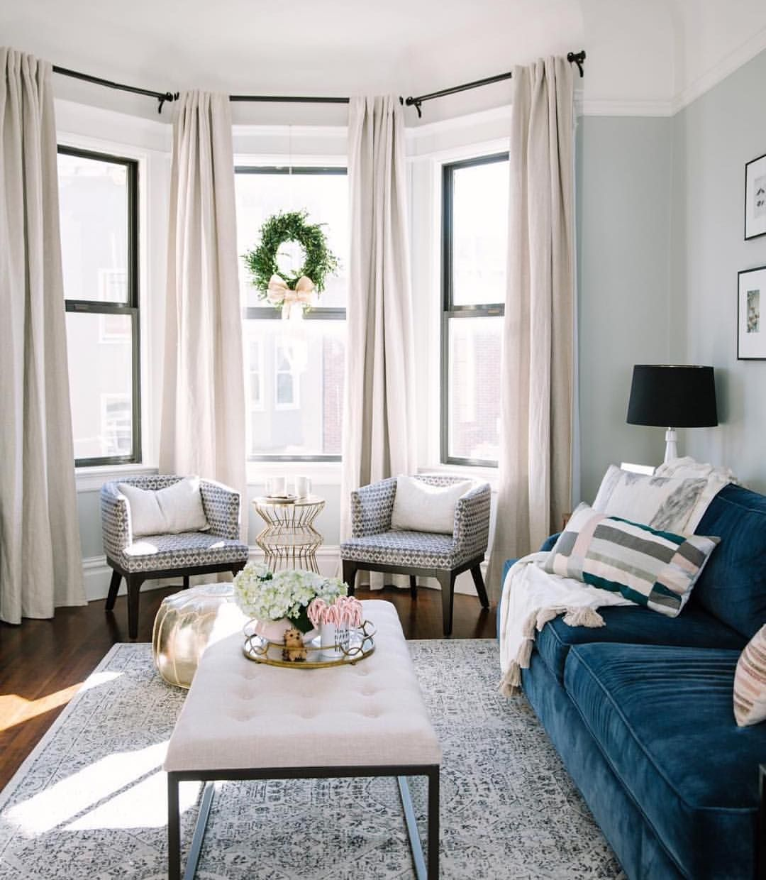 Bay window decor  k likes  comments  the everygirl theeverygirl on