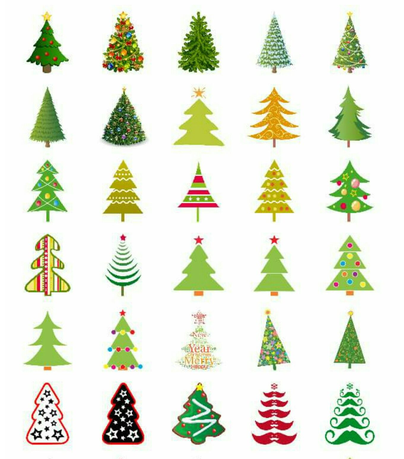 Emoji Chrismas Newyear 2017 كل عام وانتم بخير ايموجي Happy New Year Christmas Doodles Christmas Typography Christmas Prints