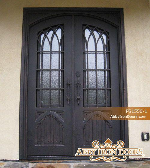 Attirant Abby Iron Doors