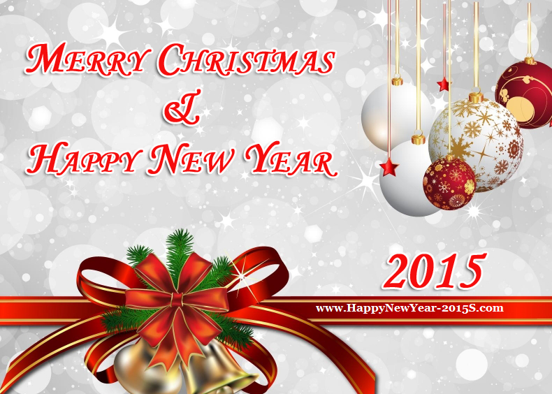 best Merry Christmas Happy New Year 2015 Wishes Quotes image collection