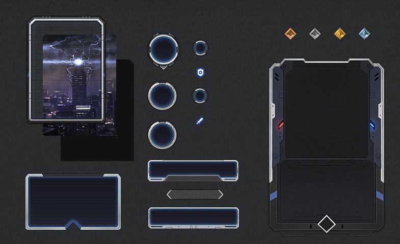 Futuristic Card Template Delta Sponsored Sponsored Template Card Futuristic Icons Card Template Graphic Design Photography Graphic Design Branding