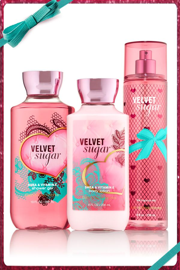 Wrap Yourself In Velvetsugar Dailytrio Bath And Body Works