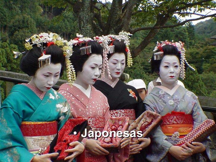 Geishas, Japón