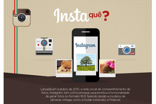 Insta quê? Infográfico explica a importância do Instagram para as marcas