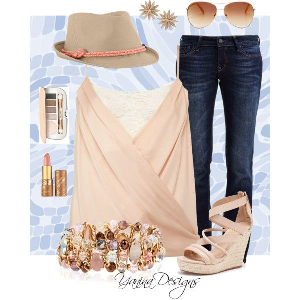 Last Spring Fling by wicked-writer on Polyvore featuring polyvore, fashion, style, Lipsy, Mavi, Joe's Jeans, Accessorize, R.J. Graziano, The North Face, Tommy Hilfiger, Jane Iredale and tarte