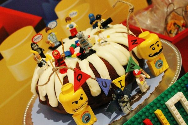 Excellent Quinns 5Th Birthday Party Legoland Nothing Bundt Cakes Bundt Funny Birthday Cards Online Eattedamsfinfo