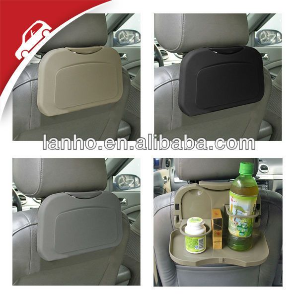 new car auto back seat travel food meal cup drink dining tray plate rh pinterest com