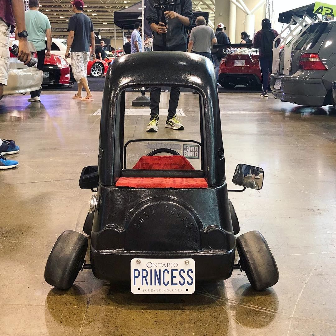 Does this Cozy Coupe have too much camber? 👸 superstreet