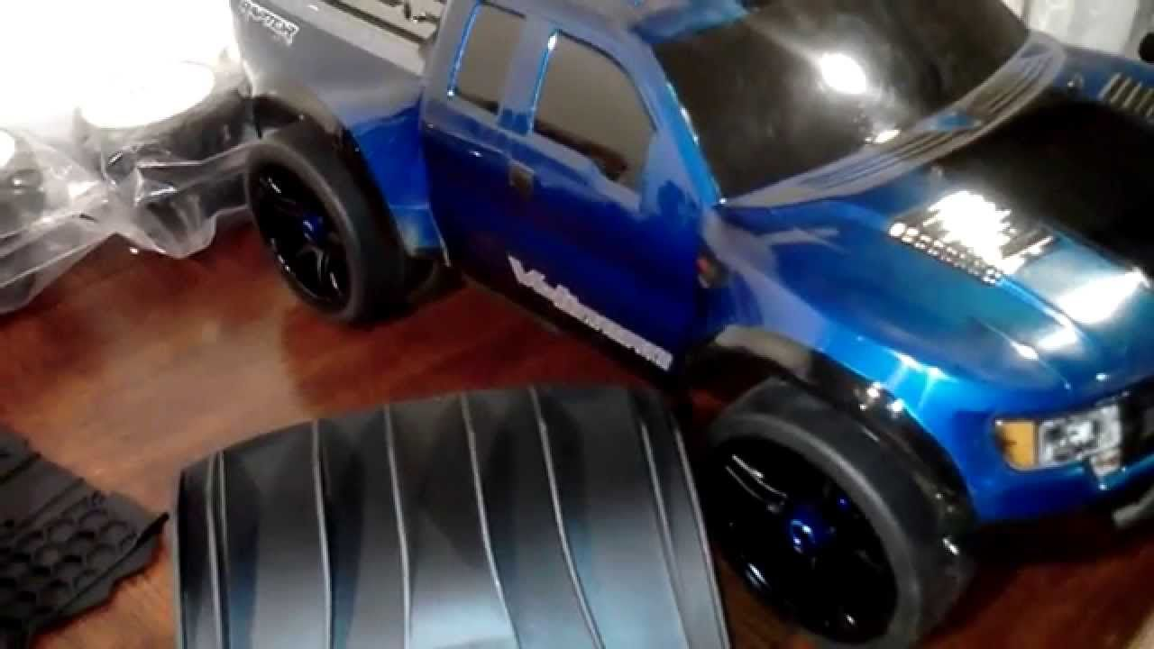 Traxxas Slash 2wd Ford Raptor Chassis and Body Upgrades