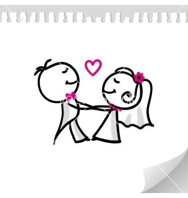 cartoon wedding couple vector art download invitation vectors rh pinterest com wedding vector images wedding vector file