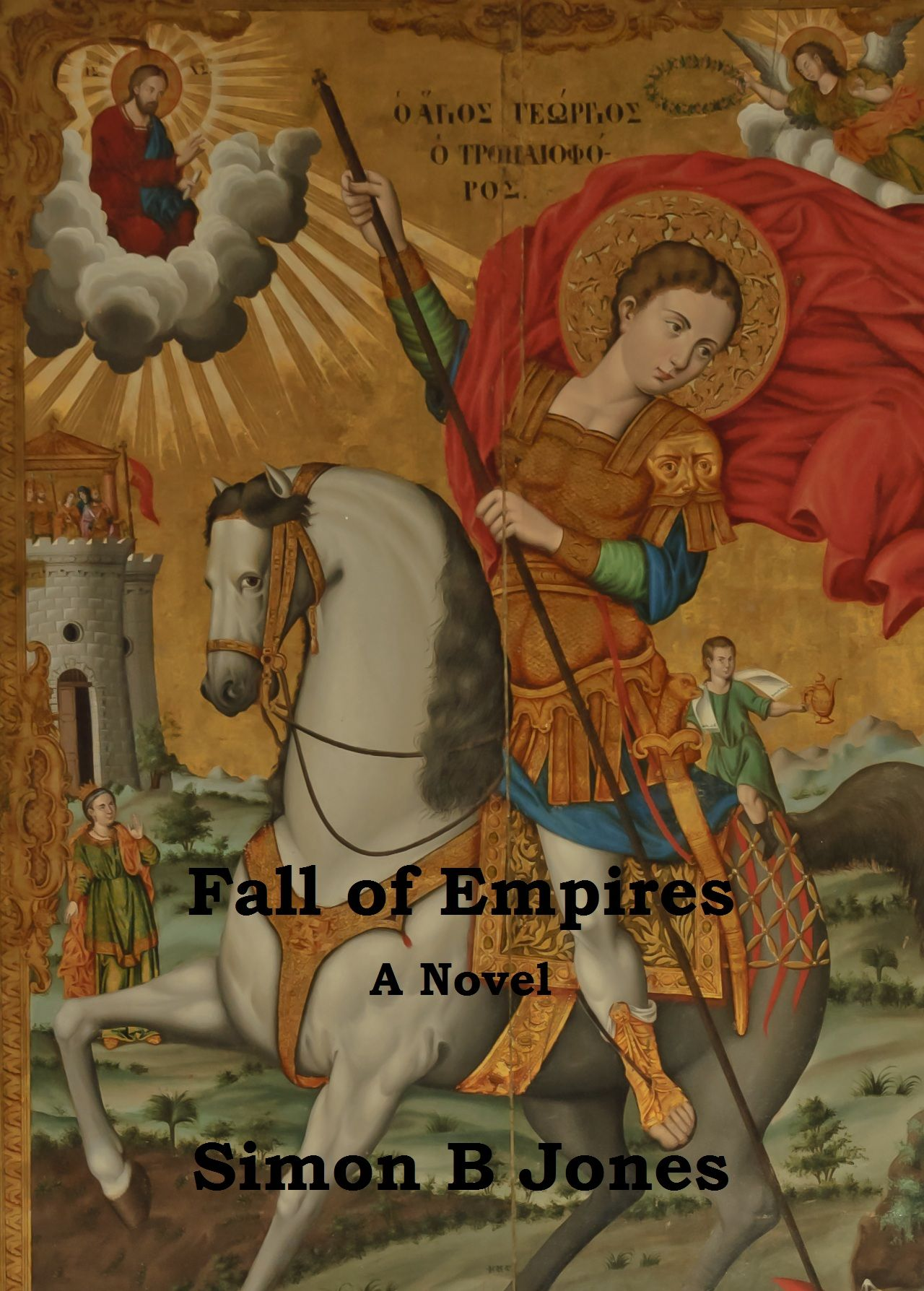 Cover for my new novel 'Fall of Empires' coming soon to Wattpad com