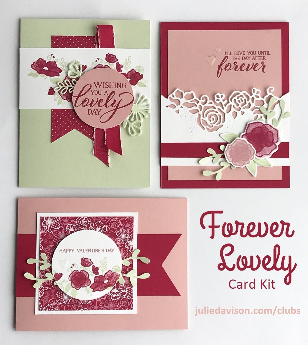 julie's stamping spot  stampin' up project ideas