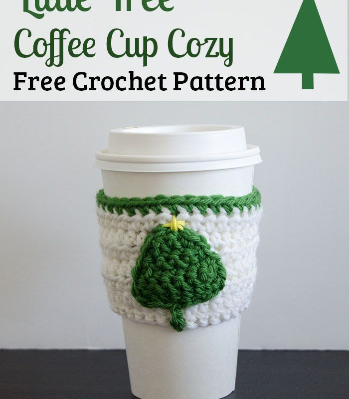 Candy Cane Striped Mug Cozy – Free Crochet Pattern