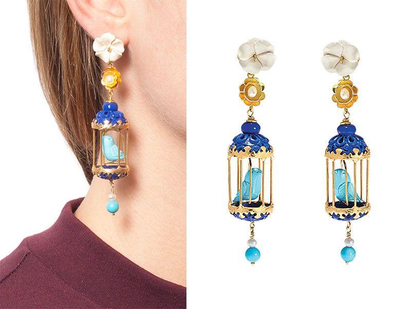 Of Rare Origin's Birdcage Earrings are Trending   jewelry ...