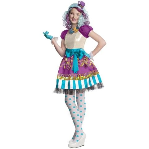 Ever After High - Madeline Hatter Child Costume Costume Ideas for - halloween teen costume ideas