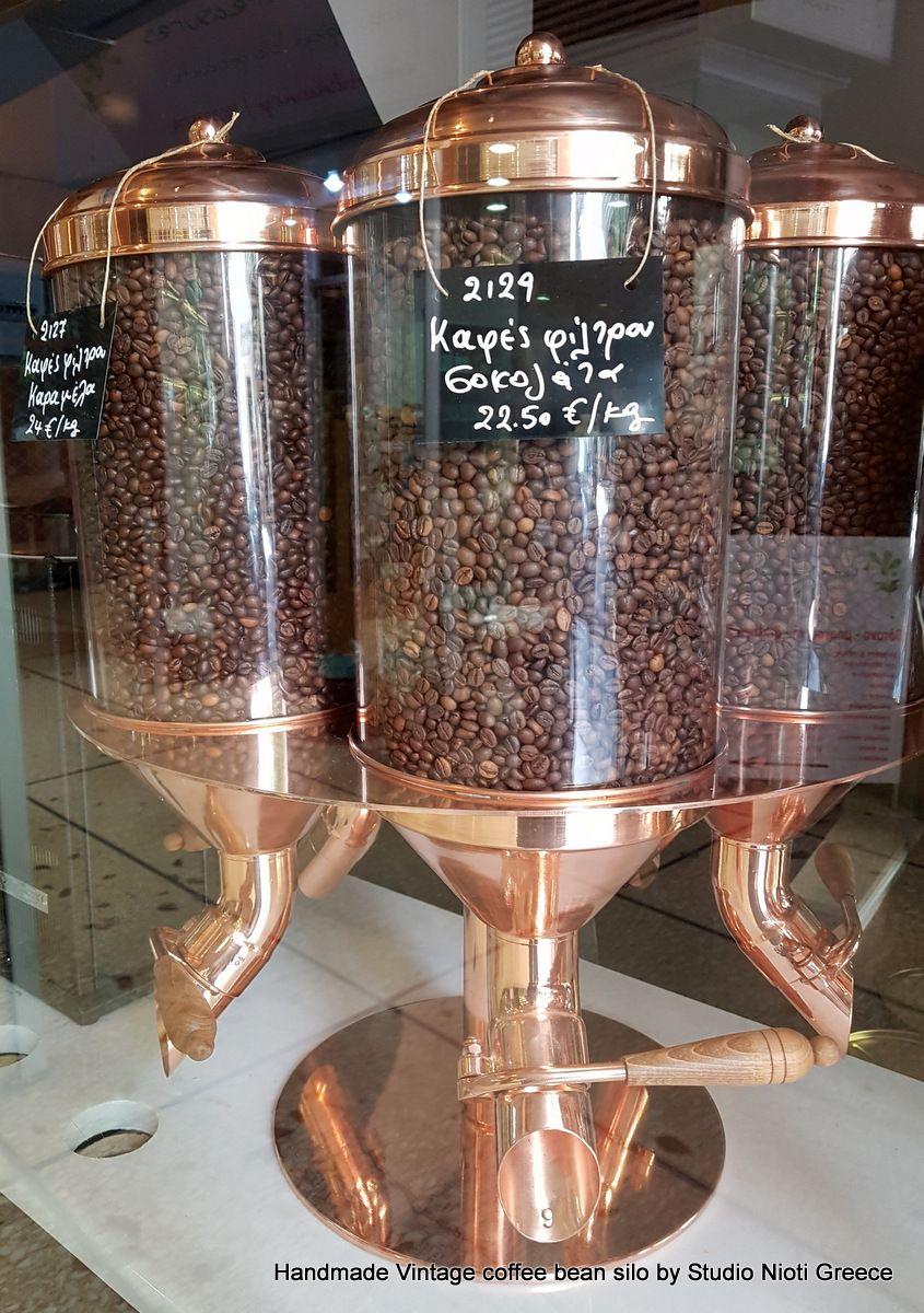 Ματσούκα Le Chocolat Vintage handmade Copper Coffee
