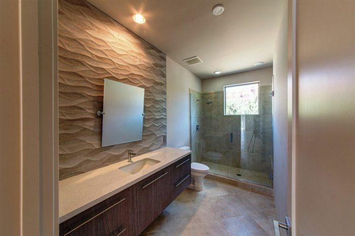 ▷ 1001 + idées déco pour la salle de bain travertin