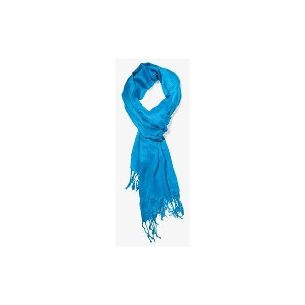 FOREVER 21 Long Crinkled Scarf ($8.80) ❤ liked on Polyvore