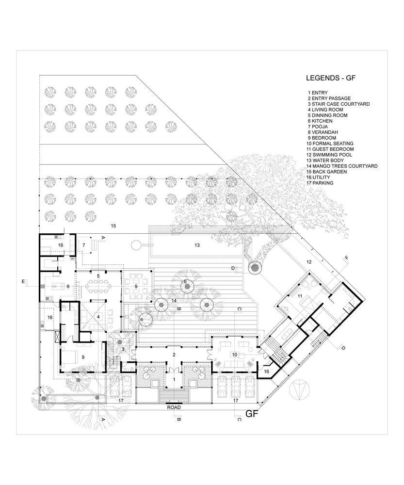Gallery of The Mango Tree House / Ujjval Panchal + Kinny Soni - 26