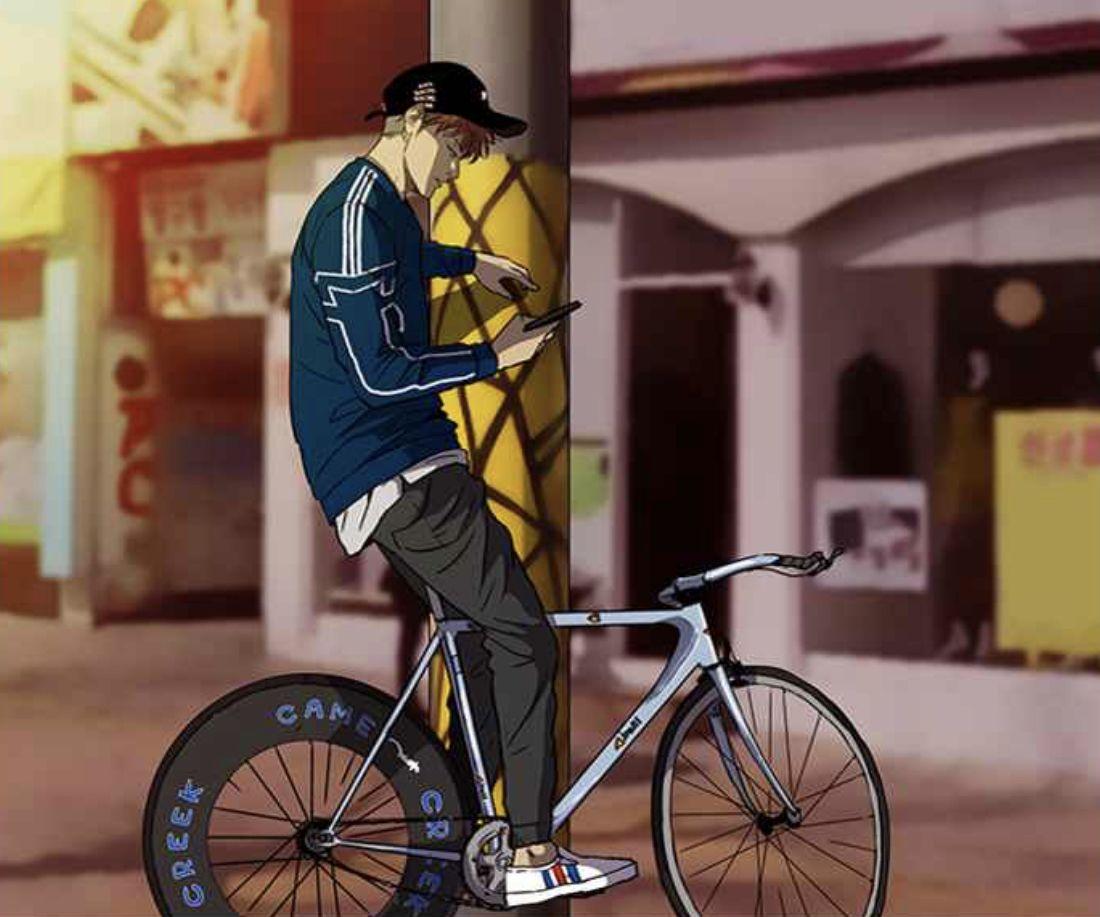 windbreaker bike