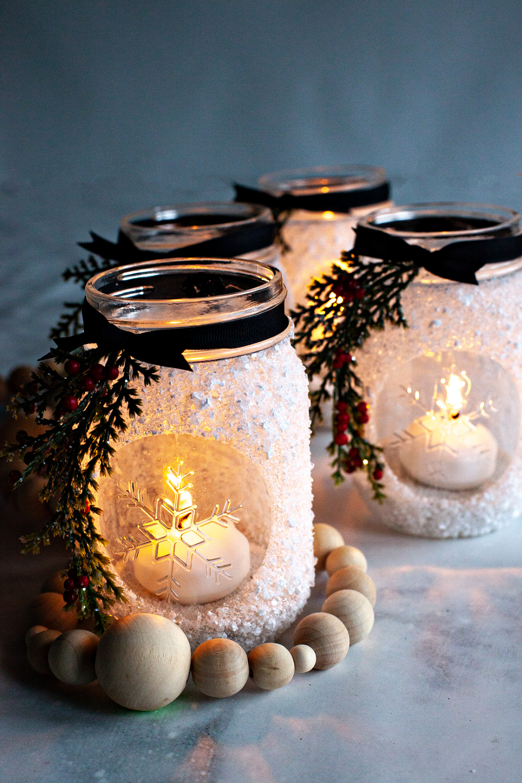 Snowflake Lantern Holiday Gift Idea