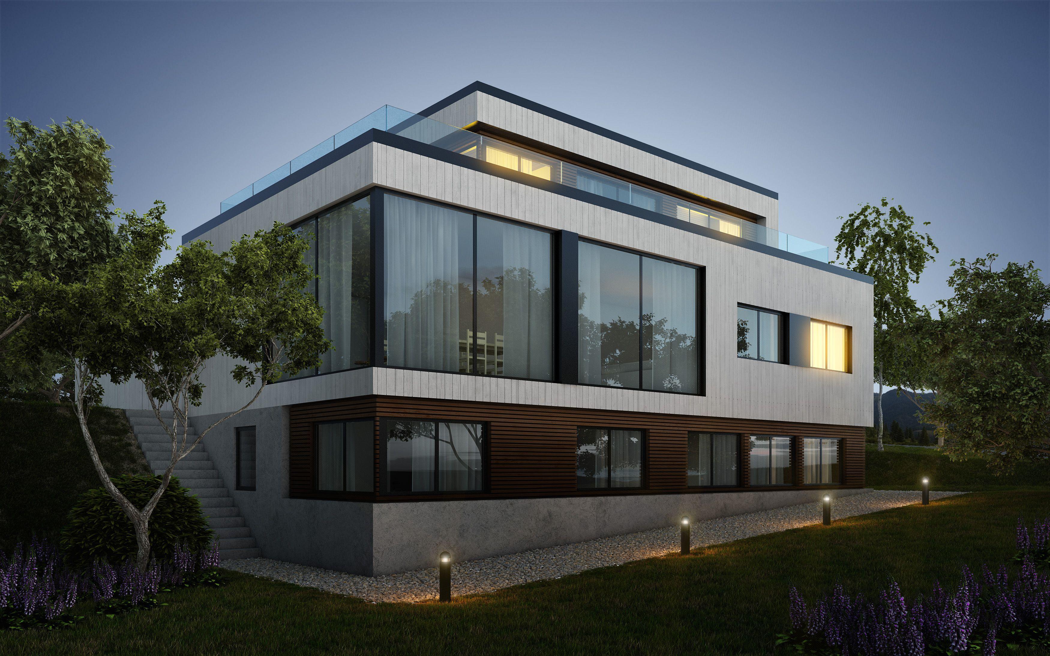 Kataloghus U- 530 moderne bolig med leilighet over tre plan ...