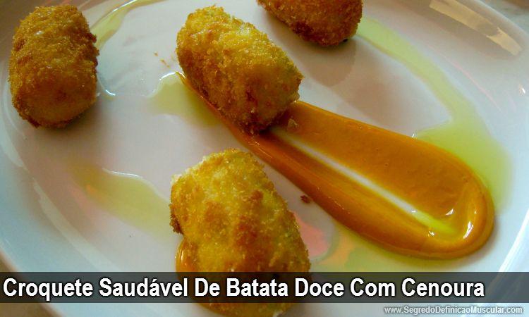 Croquete Saudável De Batata Doce Com Cenoura  ➡ https://www.segredodefinicaomuscular.com/croquete-saudavel-de-batata-doce-com-cenoura/  #SegredoDefiniçãoMuscular #receitasfit  #receitas  #dieta #fit #AlimentaçãoSaudável #ReeducaçãoAlimentar #dieta