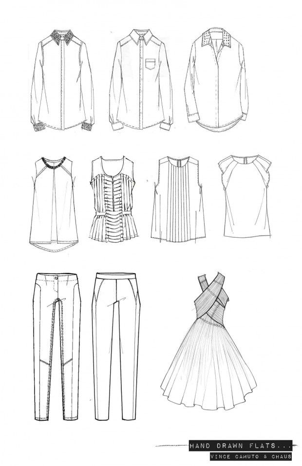 Hand drawn fashion designs 79
