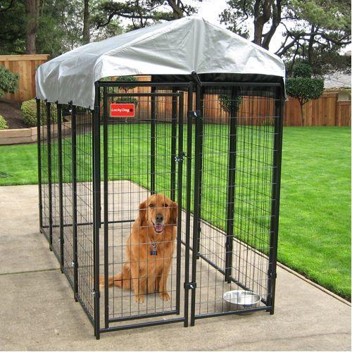 Lucky Dog Uptown Welded Wire Box Kennel 6'H x 8'L x 4'W $300 regular price, $250 costco sale