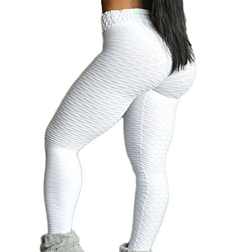 4a7177306e5766 Meet Nice Womens Sport Yoga Pants Stretchy Skinny High Waisted Ruched Butt  Lifting Long Workout Leggings