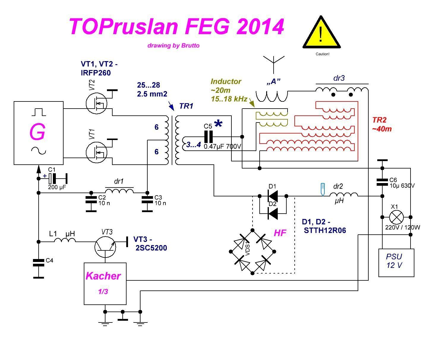 Kapanadze Generator Circuit Diagram - kapa energy device ... on