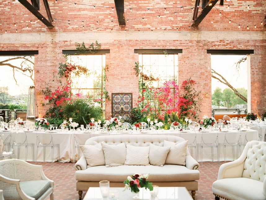 It was love-at-first-sight seeing Taylor and Adam's modern organic wedding planned by Westcott Weddings. The industrial setting of Hotel Emma made the perfect setting for such romantic florals and crisp color palette. Marquee Event Group and Loot Vintage set to work transforming the scene with their contemporary rental pieces and it has us swooning. Cheers to the happy couple! Photos by Michelle Boyd Photography. #marqueeeventgroup #lootvintagerentals #westcottweddings