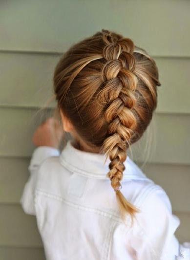 Pin Van Ellis Op Hair Frisur Kleinkind Kinder Haar En Flechten