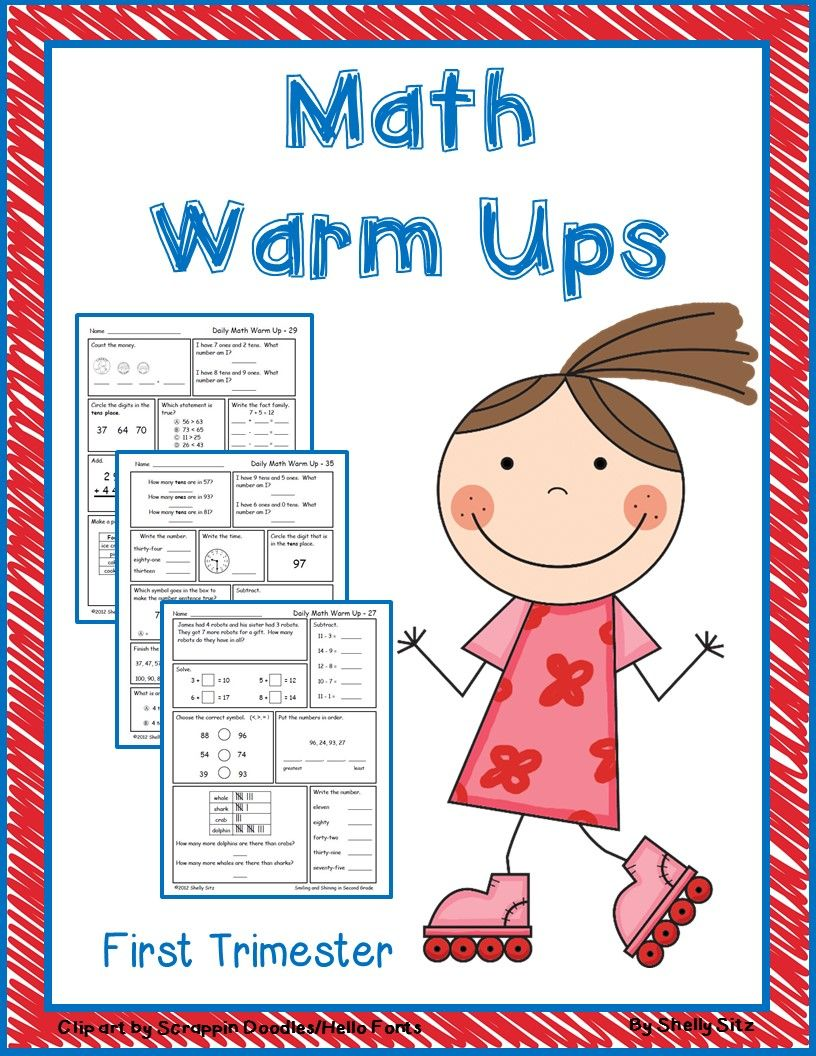 Second Grade Freebies Daily Math Math Second Grade Math [ 1056 x 816 Pixel ]