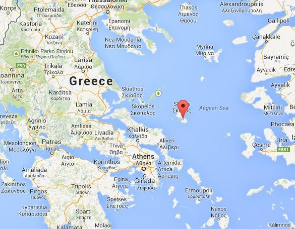 Ufos Caught On Video Over Skyros Island In Greece Greece Islands
