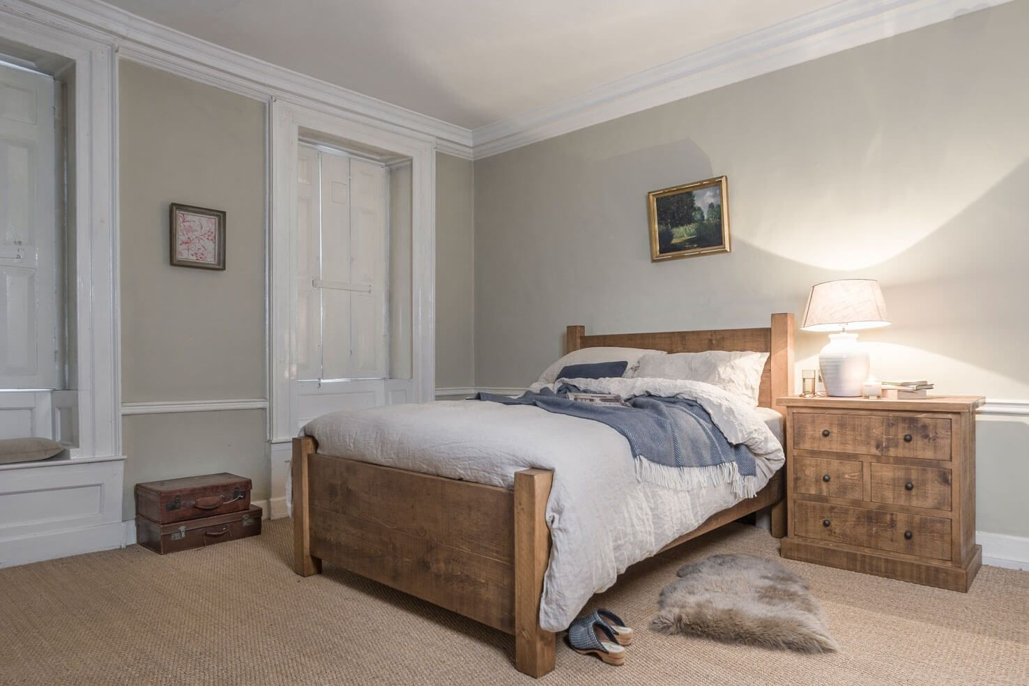 The Miller S Plank Bed Oak Bedroom Oak Bedroom Furniture
