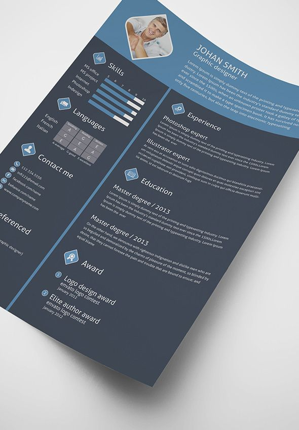 free-3-color-flat-resume-template-cover-letter-for-graphic - color specialist sample resume