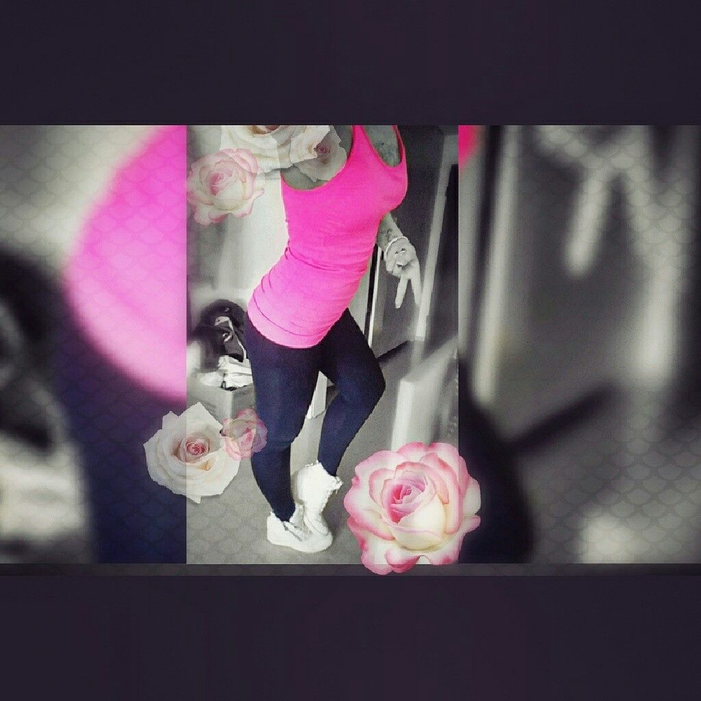#peace #fitness #love #pink