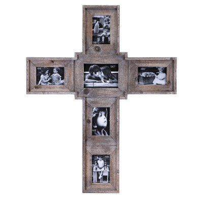 Imax Cross Family Collage Picture Frame 14536 Products