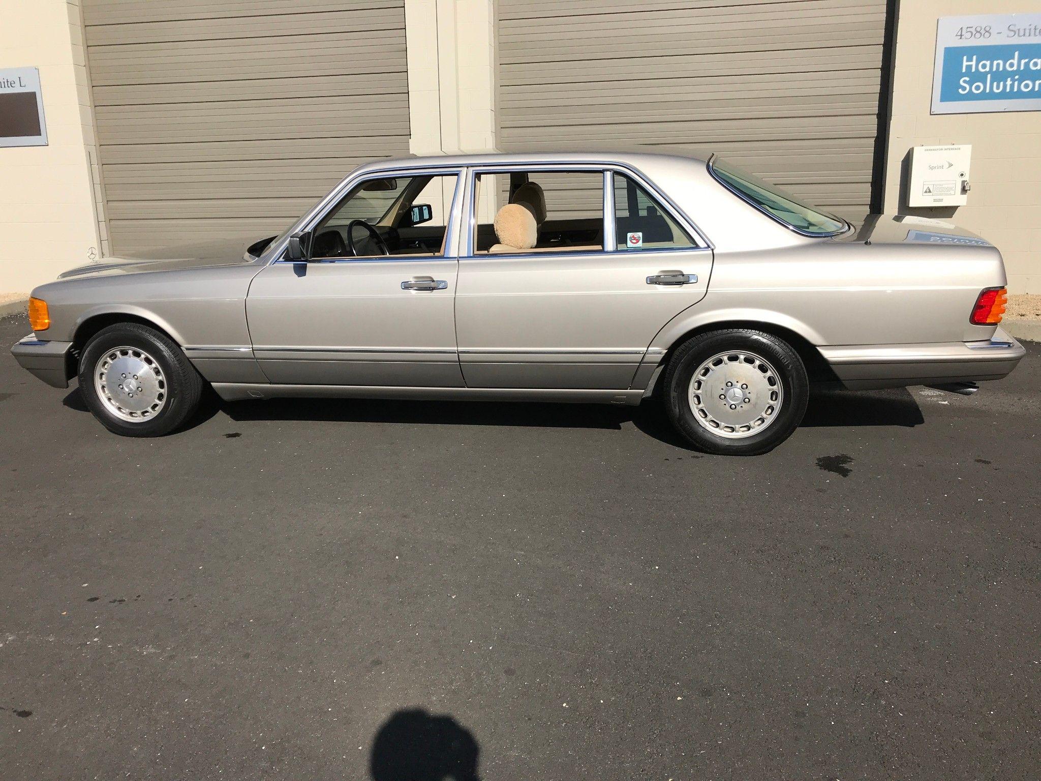 No Reserve 1990 Mercedes Benz 420sel Benz Mercedes Benz Mercedes