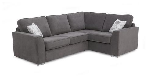 Skill Left Hand Facing Corner Sofa Bed Plaza Dfs